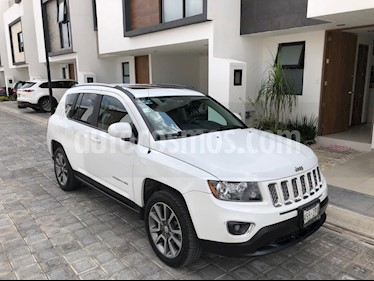 Foto Jeep Compass 4x2 Limited Premium CVT Nav  usado (2014) color Blanco precio $218,985