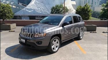 Foto venta Auto usado Jeep Compass 4x2 Limited Premium CVT (2012) color Gris precio $195,000