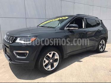 Foto venta Auto usado Jeep Compass 4x2 Limited Premium CVT (2018) color Gris precio $479,000