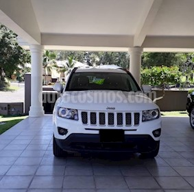 Jeep Compass 4x2 Limited Premium CVT  usado (2014) color Blanco precio $205,000