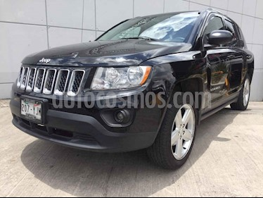 Foto venta Auto usado Jeep Compass 4x2 Limited Premium CVT (2012) color Negro precio $199,000