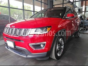 Foto venta Auto usado Jeep Compass 4x2 Limited Premium CVT  (2018) color Rojo precio $447,000