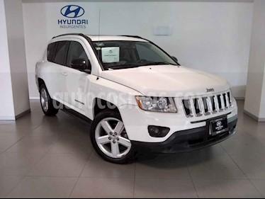 Foto venta Auto usado Jeep Compass 4x2 Limited Premium CVT (2012) color Blanco precio $180,000