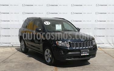 Jeep Compass 4x2 Sport CVT usado (2013) color Negro precio $175,000