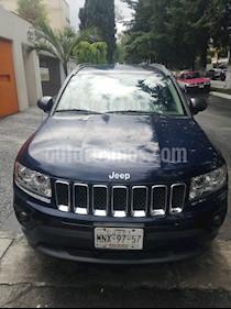 Jeep Compass 4x2 Sport CVT usado (2013) color Azul Real precio $168,999