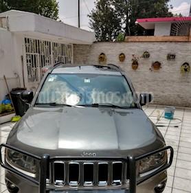 Foto venta Auto usado Jeep Compass 4x4 Limited Premium CVT Nav  (2012) color Gris Mineral precio $165,000