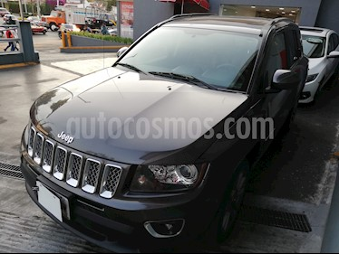 Foto venta Auto usado Jeep Compass 4x4 Limited Premium CVT  (2014) color Gris Mineral precio $220,000