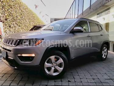 Foto venta Auto usado Jeep Compass 5p Latitud 4x2 L4/2.4 Aut c/Cam y B/A (2018) color Plata precio $420,000