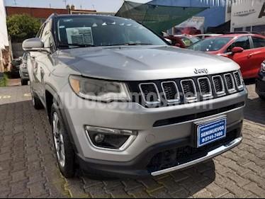 Foto venta Auto usado Jeep Compass 5p Limited 4x2 L4/2.4 Aut (2018) color Plata precio $450,000