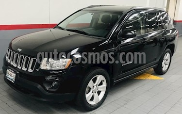 Foto venta Auto usado Jeep Compass 5p Sport 4x2 L4/2.4 Aut (2013) color Negro precio $169,000