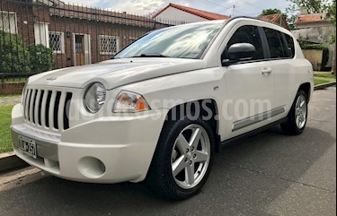 Jeep Compass 2.4 4x4 Limited Aut usado (2009) color Blanco precio $650.000