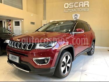 Jeep Compass 2.4 4x4 Limited Plus Aut usado (2018) color Rojo precio u$s34.500