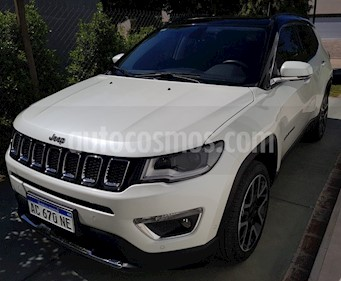 Jeep Compass 2.4 4x4 Limited Plus Aut usado (2018) color Blanco precio $2.900.000