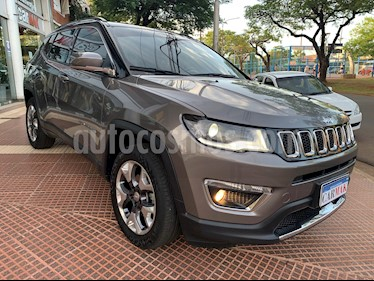 Jeep Compass 2.4 4x4 Limited Aut usado (2018) color Marron precio $2.650.000