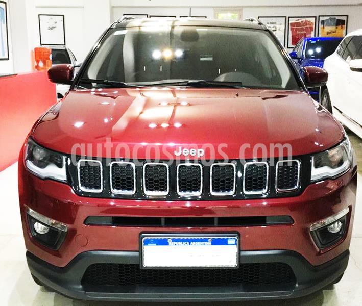 Jeep Compass 2.4 4x4 Longitude Aut usado (2018) color Rojo precio $2.600.000