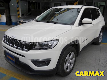 Jeep Compass 2.4L 4x2 Longitude Plus Aut  usado (2019) color Blanco precio $96.900.000
