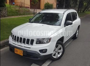 Jeep Compass 2.4L 4x2 Sport usado (2014) color Blanco precio $44.900.000