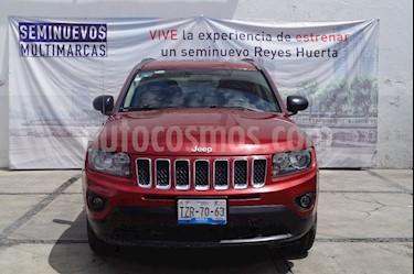 Foto venta Auto usado Jeep Compass Latitude (2016) color Rojo Cerezo precio $250,000
