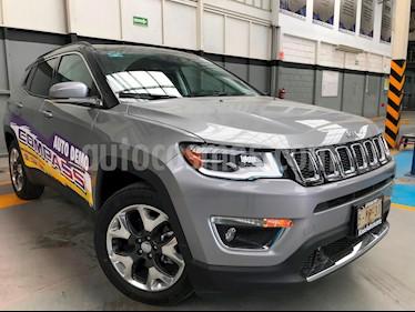 Foto venta Auto usado Jeep Compass Limited Premium (2019) color Plata Martillado precio $577,900