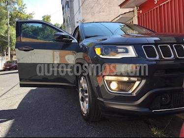 Jeep Compass Limited Premium usado (2018) color Granito precio $360,000