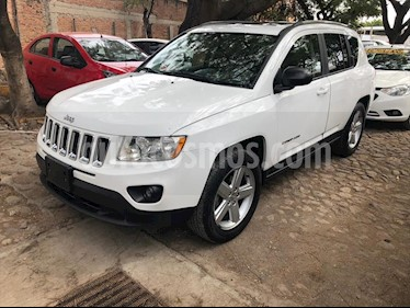 Jeep Compass 4x4 Limited Premium CVT usado (2012) color Blanco precio $170,000