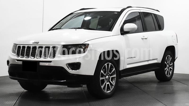 Jeep Compass 4x4 Limited CVT usado (2014) color Blanco precio $195,000