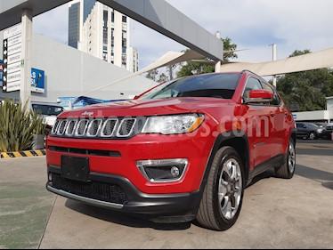 Jeep Compass 4x2 Limited Aut usado (2018) color Rojo Cerezo precio $385,000