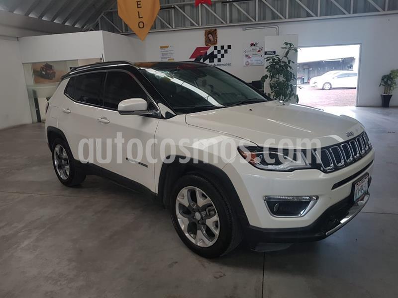 Jeep Compass Limited Premium usado (2019) color Blanco precio $439,000