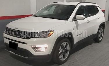 Jeep Compass 5P LIMITED TA A/AC. AUT. PIEL GPS RA-18 usado (2019) color Blanco precio $439,000
