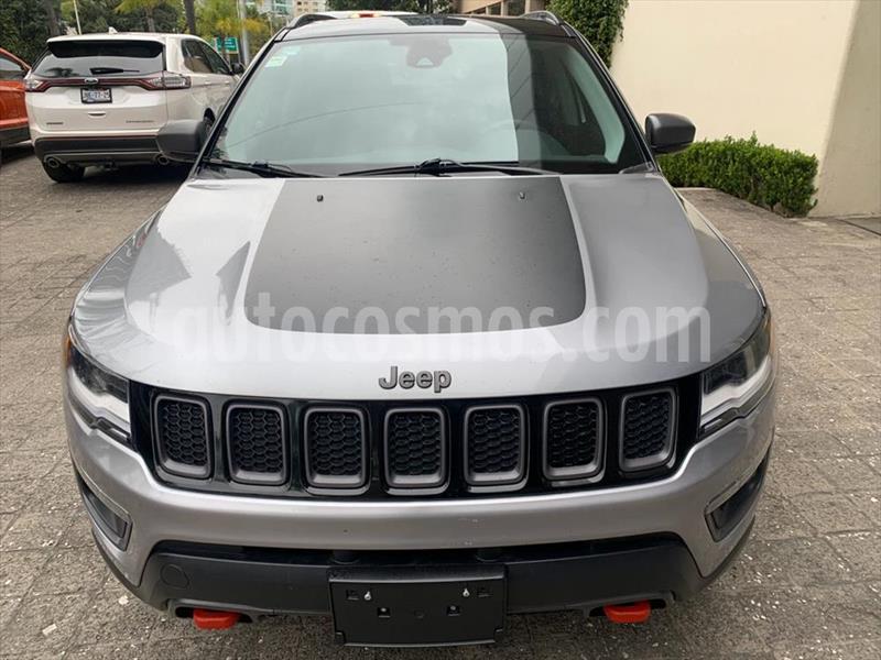 Jeep Compass Trailhawk 4X4 usado (2018) color Plata precio $489,000