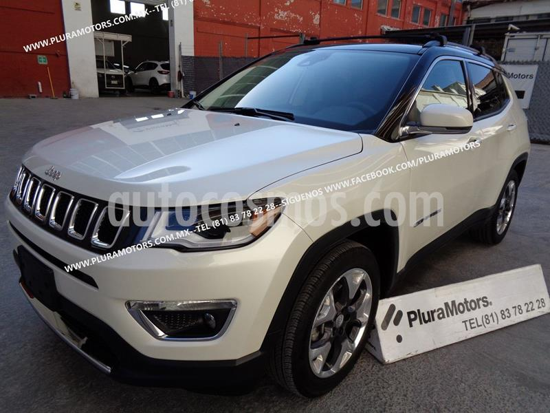Jeep Compass Limited Premium usado (2019) color Blanco precio $439,000
