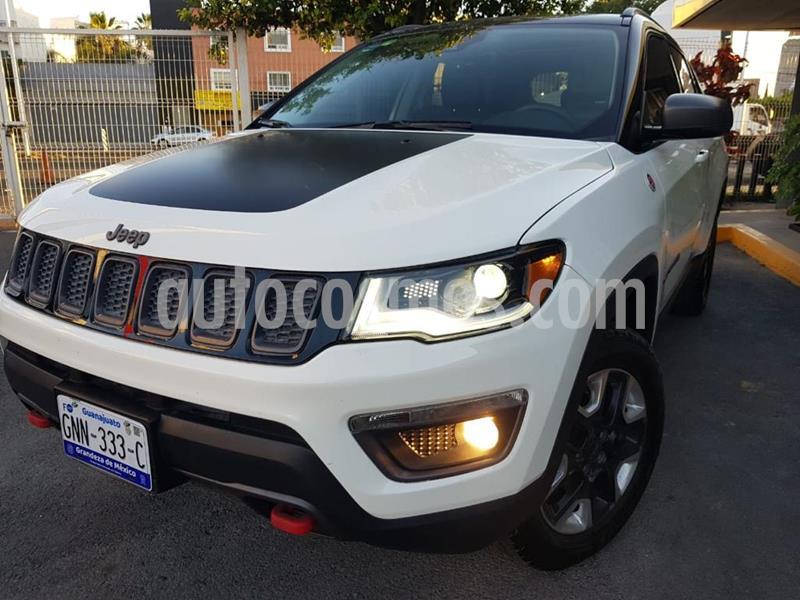 Jeep Compass Trailhawk 4X4 usado (2018) color Blanco precio $440,000
