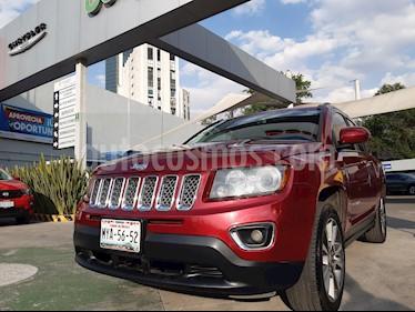 Jeep Compass 4x2 Limited Aut usado (2016) color Rojo Cerezo precio $263,000