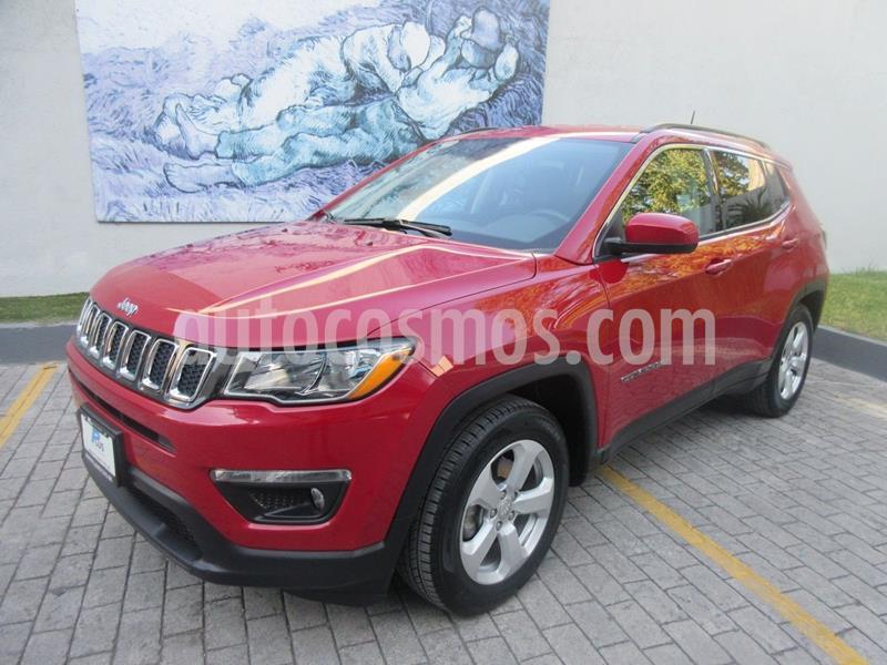 Jeep Compass 4x2 Latitude usado (2019) color Rojo precio $359,900