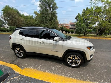 Jeep Compass 4x2 Limited Premium CVT Nav  usado (2019) color Blanco precio $480,000