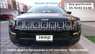 Jeep Compass Latitude usado (2018) color Negro precio $324,900