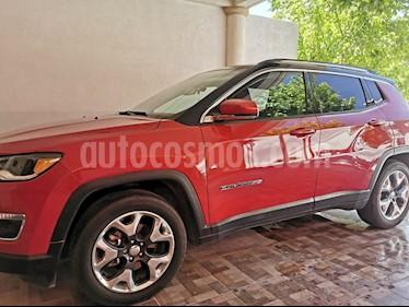 Jeep Compass Limited Premium usado (2018) color Rojo precio $350,000