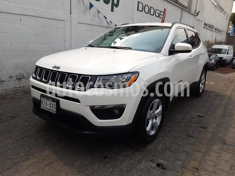 Jeep Compass 4x2 Latitude usado (2018) color Blanco precio $349,000