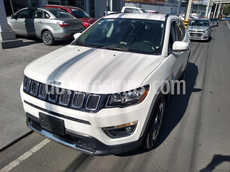 Jeep Compass 4x4 Limited CVT usado (2018) color Blanco precio $348,000