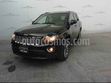 Jeep Compass 5p Limited 4x2 L4/2.4 Aut usado (2016) color Negro precio $255,000