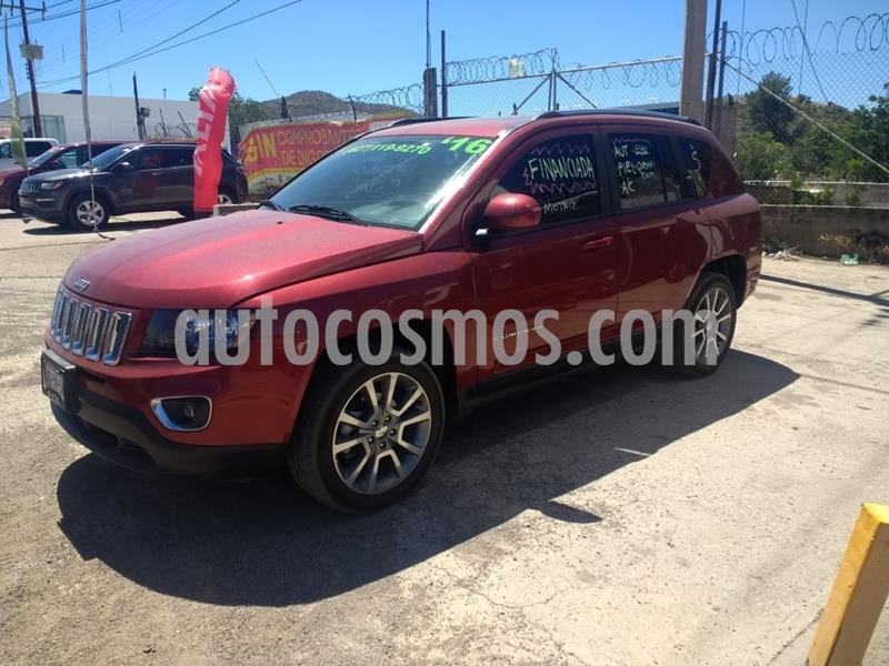 Jeep Compass 4x4 Limited CVT usado (2016) color Rojo precio $285,000