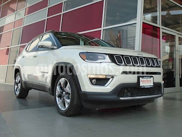Jeep Compass 4x2 Limited Aut usado (2018) color Blanco precio $399,000