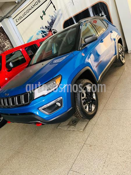 Jeep Compass Trailhawk 4X4 usado (2018) color Azul precio $639,900