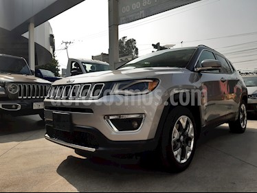 Jeep Compass Limited Premium usado (2018) color Plata precio $385,000