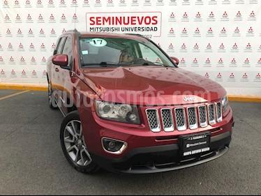 Jeep Compass Limited usado (2017) color Rojo Cerezo precio $295,000