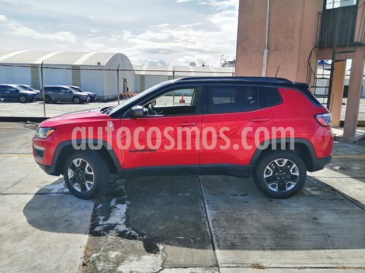 Jeep Compass Trailhawk 4X4 usado (2018) color Rojo precio $441,000