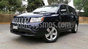 Jeep Compass 5P SPORT AT A/AC. CD RA-17 usado (2013) color Azul precio $168,000