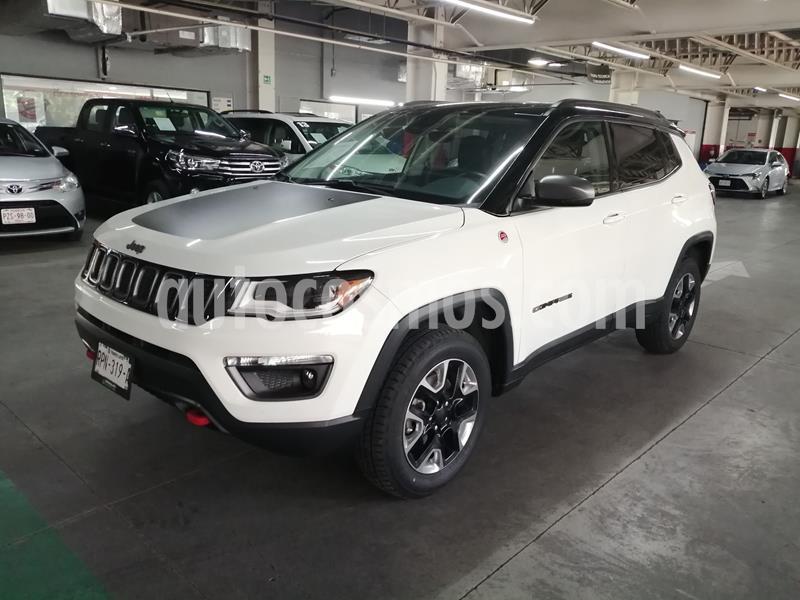Jeep Compass Trailhawk 4X4 usado (2018) color Blanco precio $415,000