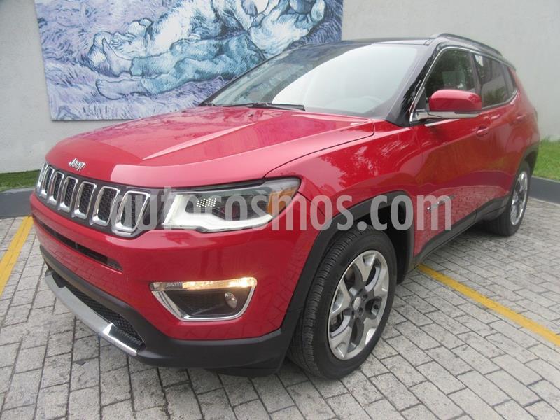 Jeep Compass Limited Premium usado (2018) color Rojo precio $395,000