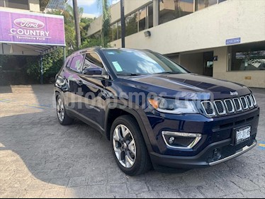 Jeep Compass Limited usado (2018) color Azul Marino precio $398,000